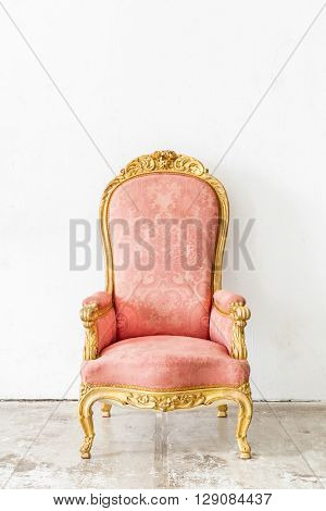 Pink Vintage retro style Chair