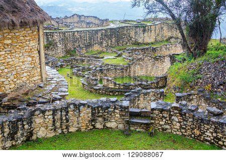 View Of Kuelap, Peru