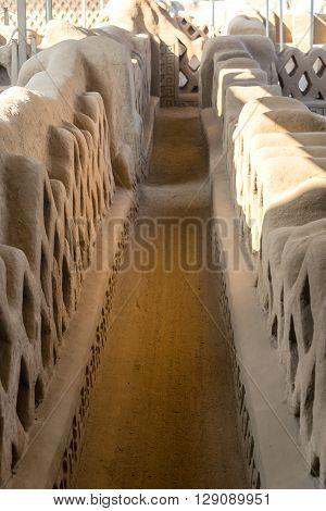 Hallway In Chan Chan