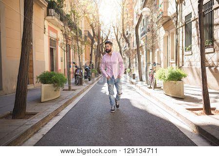 Taking A Walk Down The Street