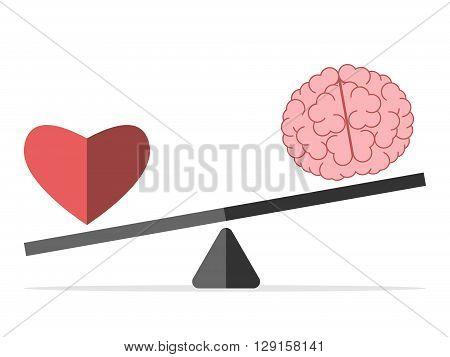 Balance Between Heart And Brain