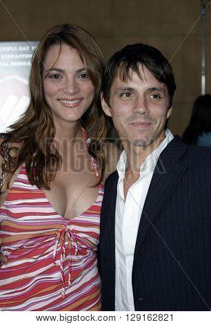 Carolina Bacardi and Enrique Sapene at the Los Angeles premiere of