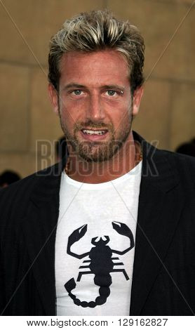 Gabriel Soto at the Los Angeles premiere of
