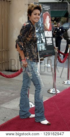 """Honey Labrador at the Los Angeles premiere of """"Matando Cabos"""" held at the Eygptian Theatre in Hollywood, USA on on August 22, 2005."""