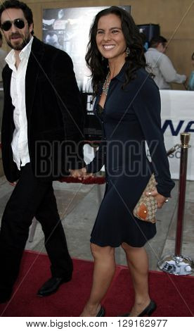Kate Del Castillo and Demian Bichir at the Los Angeles premiere of
