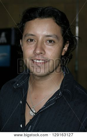 """Efren Ramirez at the Los Angeles premiere of """"Matando Cabos"""" held at the Egyptian Theatre in Hollywood, USA on August 22, 2005."""