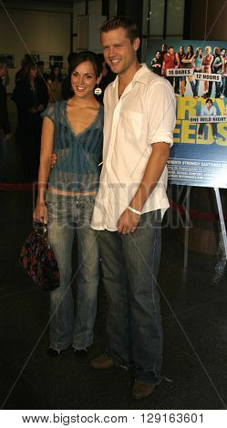 "Erin Cahill at the World premiere of ""Dirty Deeds"" held at the DGA Theatre in Hollywood, USA on August 24, 2005."