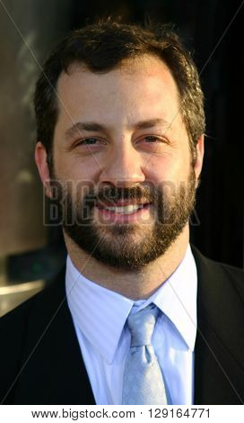 "Judd Apatow at the Los Angeles premiere of ""The 40 Year-Old Virgin"" held at the ArcLight Theatre in Hollywood, USA on August 11, 2005."