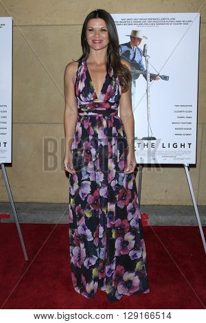 LOS ANGELES - MAR 22:  Danielle Vasinova at the I Saw the Light LA Premiere at the Egyptian Theatre on March 22, 2016 in Los Angeles, CA
