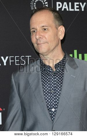 LOS ANGELES - MAR 20:  Tim Minear at the PaleyFest 2016 - American Horror Story: Hotel at the Dolby Theater on March 20, 2016 in Los Angeles, CA