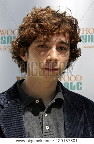 Aaron Himelstein at the W Magazine Hollywood Yard Sale held at the W Mag in Los Angeles, USA on September 12, 2004.