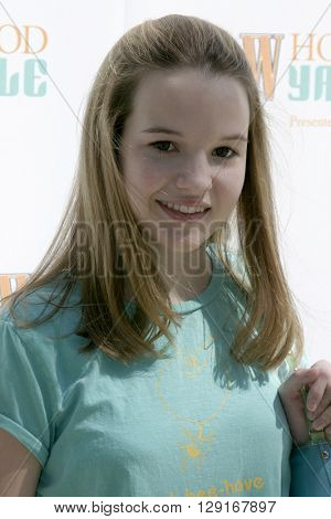 Kay Panabaker at the W Magazine Hollywood Yard Sale held at the W Mag in Los Angeles, USA on September 12, 2004.