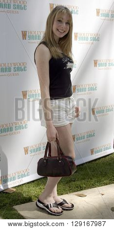 Lisa Foiles at the W Magazine Hollywood Yard Sale held at the W Mag in Los Angeles, USA on September 12, 2004.