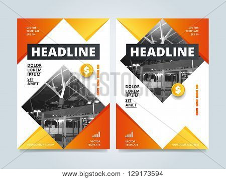 Brochure template. Creative brochure template. Business template of brochure or flyer. Annual report template. Flyer template. Brochure layout. Colorful brochure design template. Brochure cover design template. Layout of brochure design.