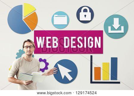 Web Design Technology Concept