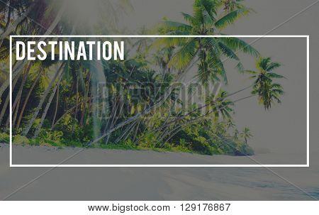 Destination Nature Ecology Global Journey Concept