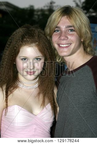"""Renee Olstead at the Los Angeles premiere of """"National Lampoon's Gold Diggers"""" held at the Grove Stadium in Hollywood, USA on September 13, 2004."""