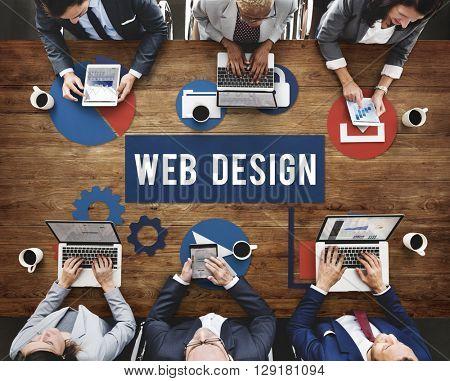 Web Design Communication Connection Internet Concept