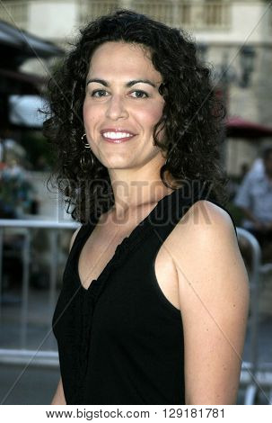 """Amy Greenspun at the Los Angeles premiere of """"National Lampoon's Gold Diggers"""" held at the Grove Stadium in Hollywood, USA on September 13, 2004."""