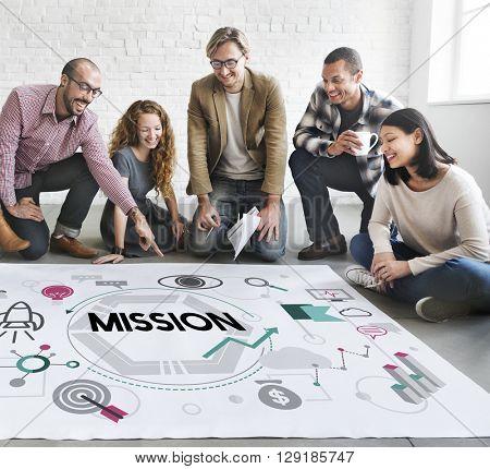 Mission Motivation Aim Target Vision Concept