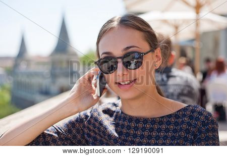 Young Tourist Woman.
