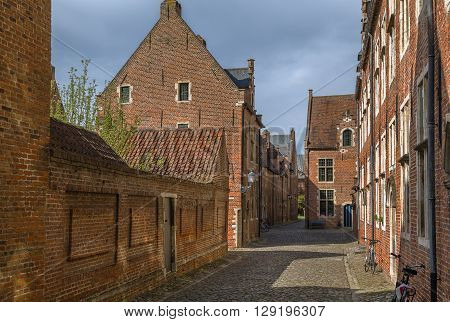 The Grand Beguinage of Leuven is a well preserved and completely restored historical quarter containing a dozen of streets in the south of downtown Leuven.Belgium