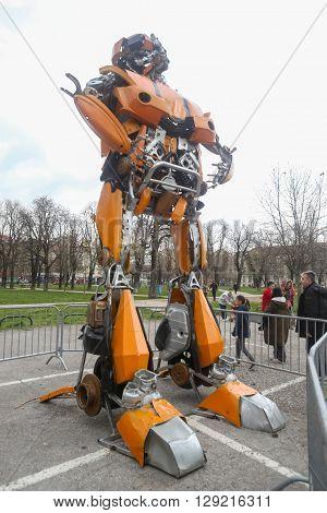 Transformers Protecting Zagreb