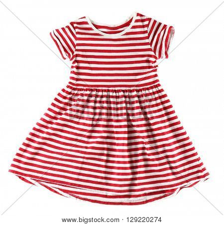 Baby dress, isolated on white