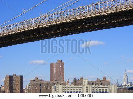 Empire State And Bridge