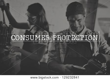 Consumer Protection Legal Rights Fair Trade Concept