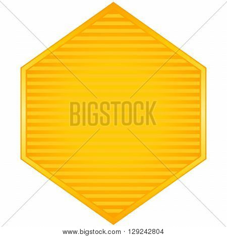 Blank stickers. Promotional label and seal. Vector illustration