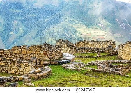 Ancient Ruins And Landscape