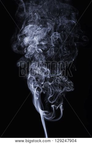 Wall texture added extremely detailed colourful smoke on the black background.