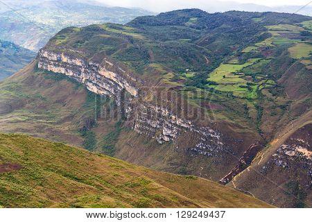 Landscape Of Kuelap, Peru