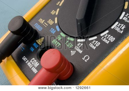 Yellow Multimeter