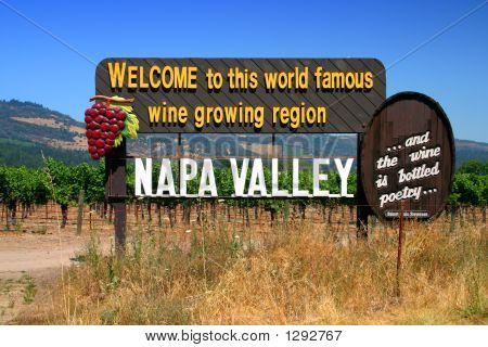 Sonoma And Napa Valley, California