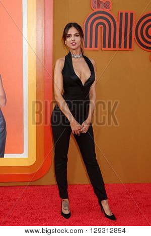 LOS ANGELES - MAY 10:  Eiza Gonzalez at the The Nice Guys Premiere at the TCL Chinese Theater IMAX on May 10, 2016 in Los Angeles, CA