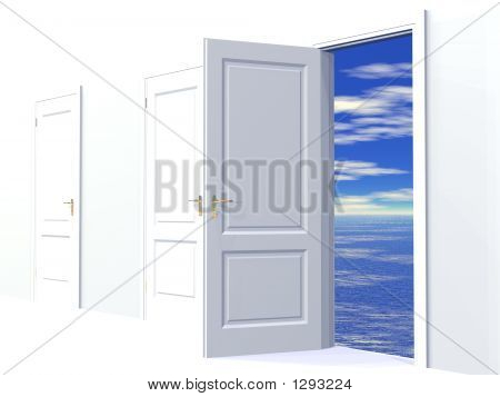 doorway to dreams (see more in my portfolio) poster