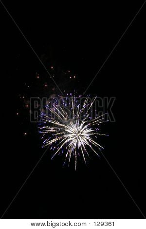 Fireworks on Norfolk Lake, Arkansas poster