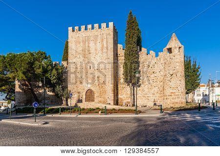 Medieval Castle of Alter do Chao, in the Portalegre District. Alto Alentejo, Portugal poster