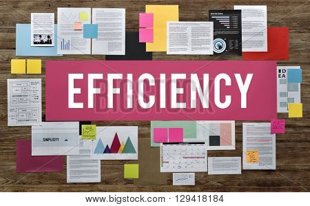 Efficiency Business Ability Excellence Improvement Concept