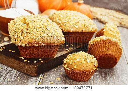 Homemade Pumpkin Cakes