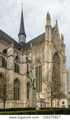 St. Rumbold's Cathedral is the Belgian metropolitan archiepiscopal cathedral in Mechelen dedicated to Saint Rumbold