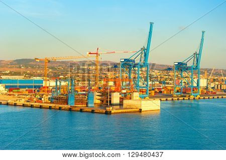 Commercial Port, Italy