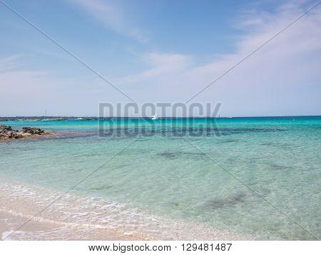 In Ses Illetes Beach