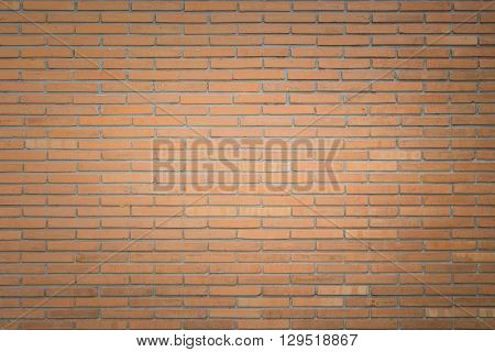 Abstract Square Red Brick Wall Background