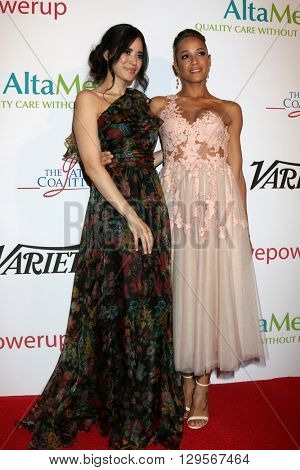 LOS ANGELES - MAY 12:  Edy Ganem, Dania Ramirez at the Power Up Gala at the Beverly Wilshire Hotel on May 12, 2016 in Beverly Hills, CA