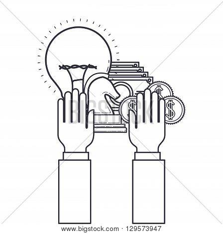 money flat icon  design, vector illustration eps10 graphic