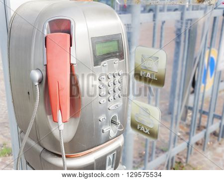 Old Public Telephone Coin (payphone)