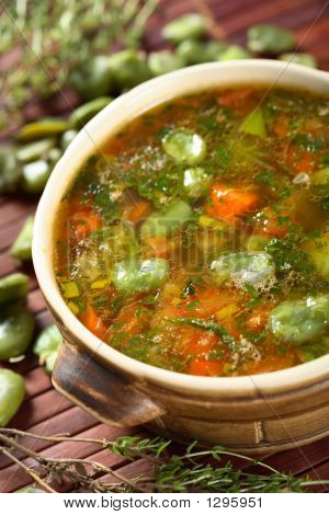Monastery Soup With Beans
